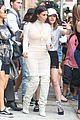 kim kardashian attends yeezy season 4 show 28