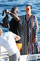 kourtney kardashian waterslides off a yacht with mom kris jenner corey gamble03134mytext