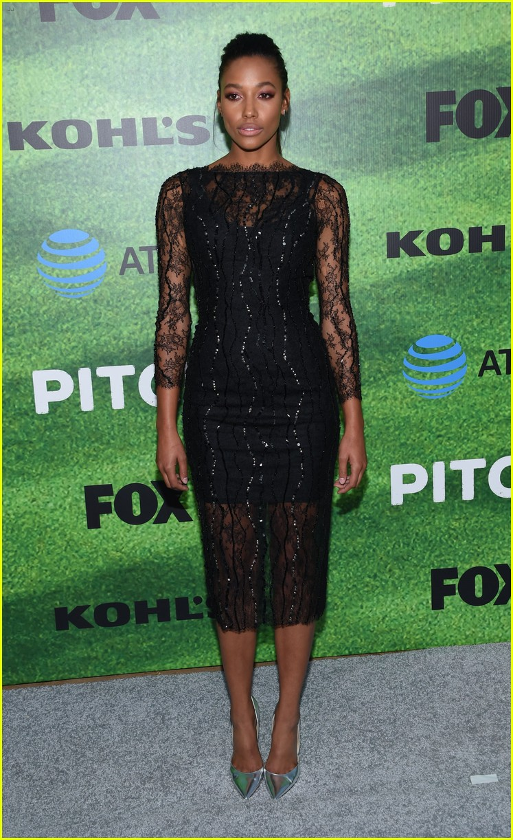 kylie bunbury premieres her new show pitch 013759983