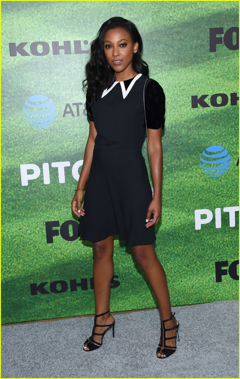 kylie bunbury premieres her new show pitch 313760008