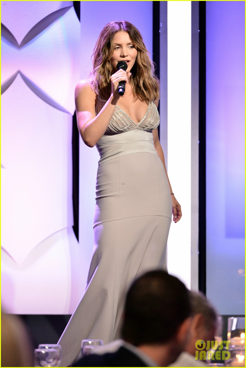 katharine mcphee shows her support at the hero dog awards 2016 303755656