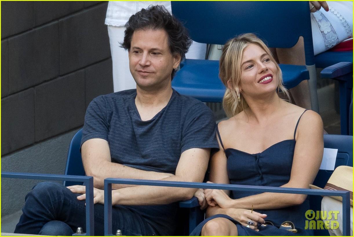 Sienna Miller Amp Bennett Miller Couple Up At US Open