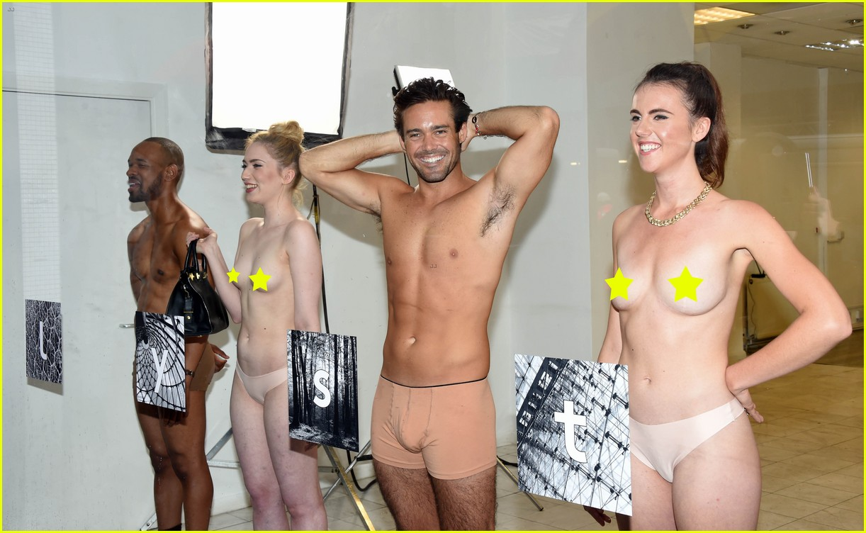 pippa middleton future brother in law strips down for lfw 073764861