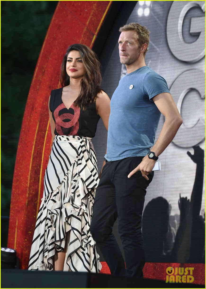 Priyanka chopra global citizen festival at central park in nyc