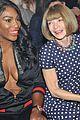 serena dakota sit front row at gucci show during milan fashion week76305mytext
