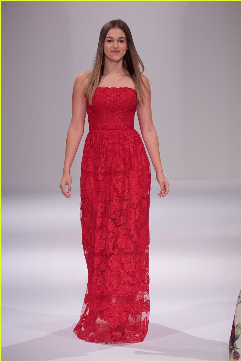 b7ea4f740 Simone Biles   Aly Raisman Stop By Sherri Hill s Fashion Show at ...