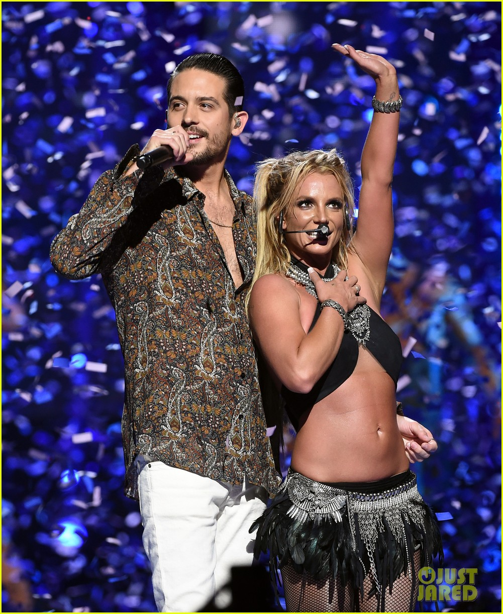 britney spears slays on stage at iheart radio music festival in vegas 143769125