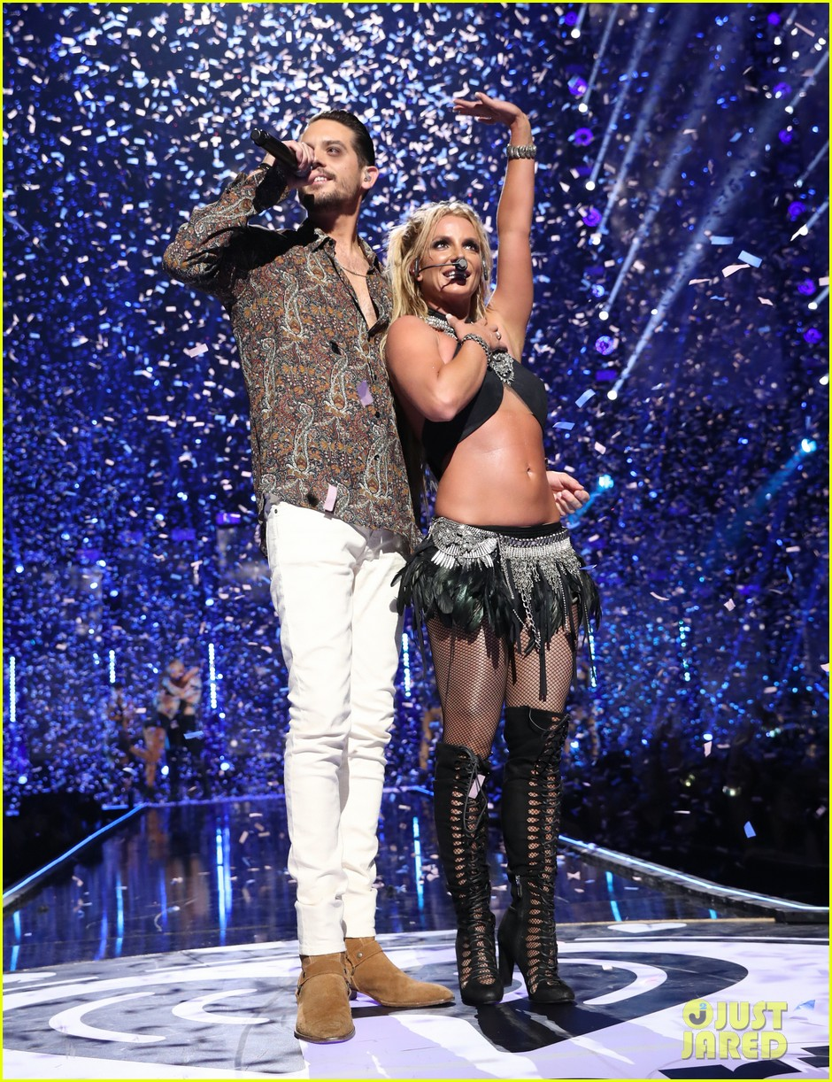 britney spears slays on stage at iheart radio music festival in vegas 173769128