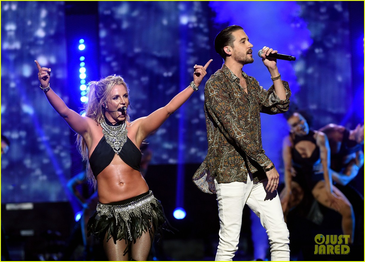 britney spears slays on stage at iheart radio music festival in vegas 223769133