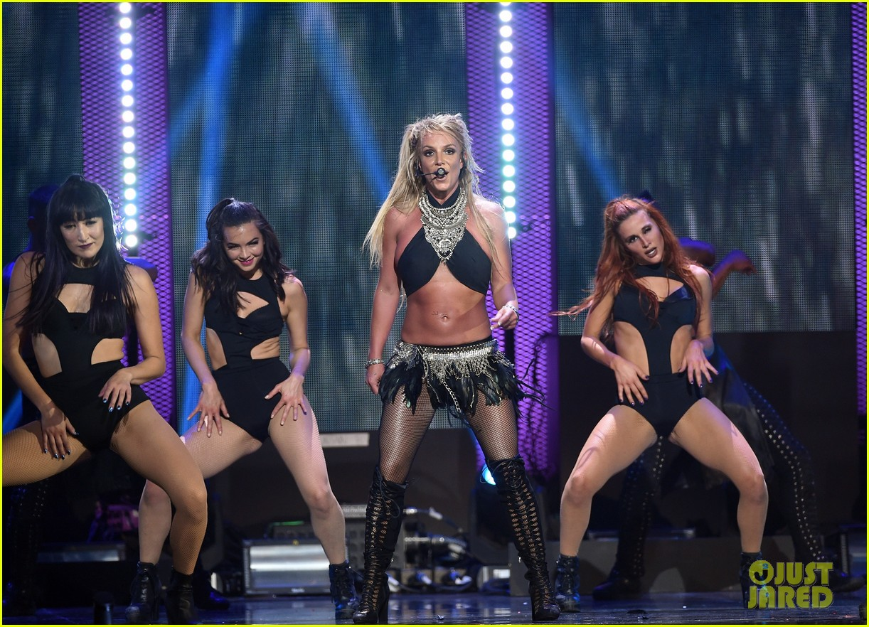 britney spears slays on stage at iheart radio music festival in vegas 243769135