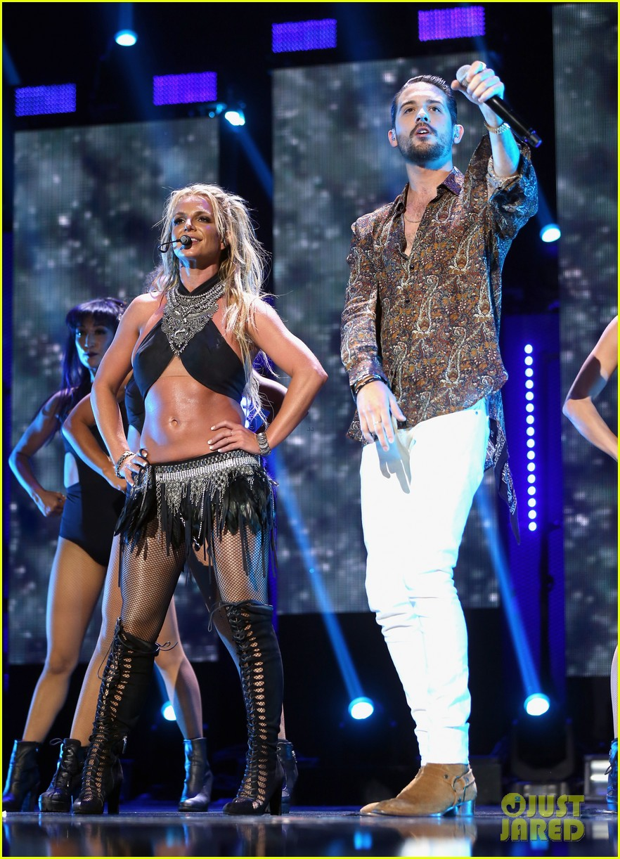 britney spears slays on stage at iheart radio music festival in vegas 263769137