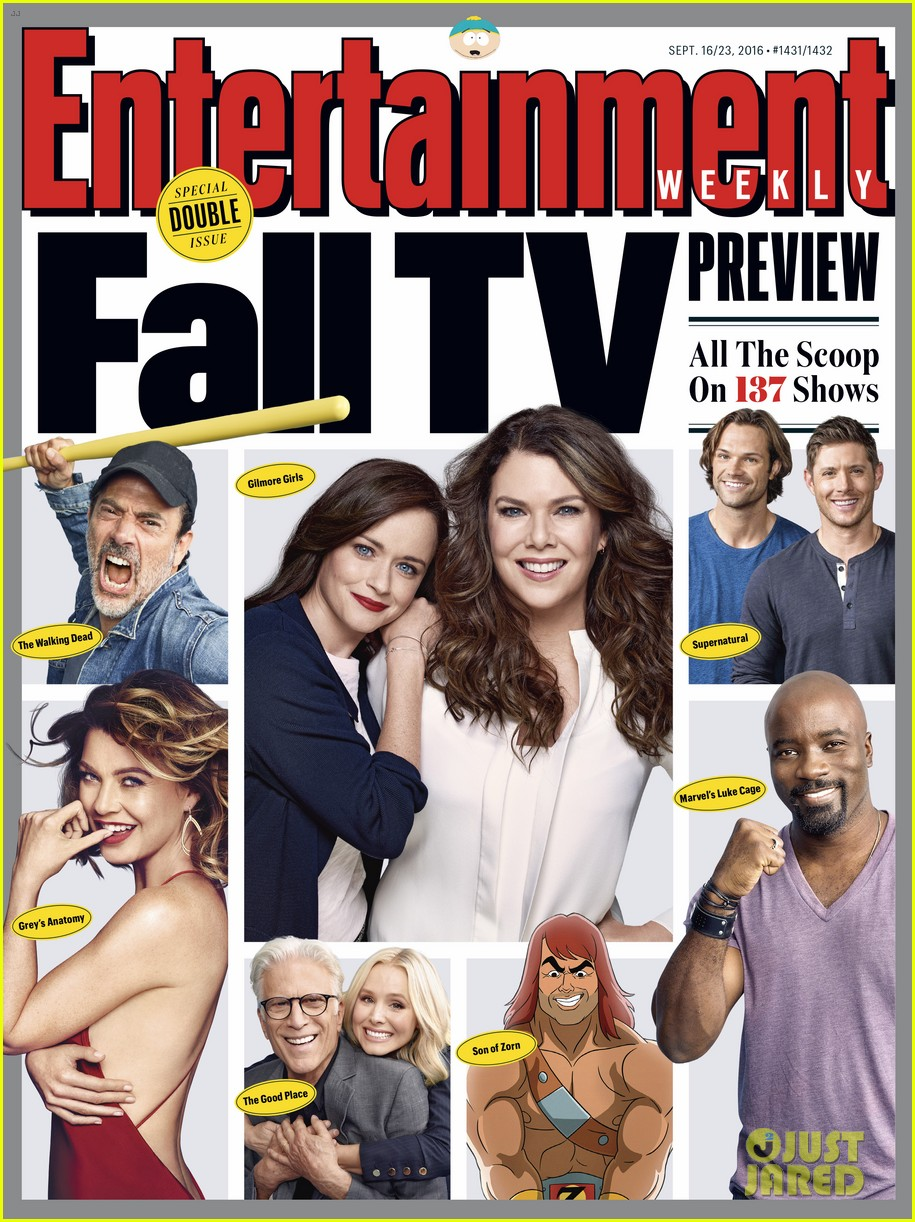 Supernatural\' Lands \'Entertainment Weekly\' Fall 2016 TV Cover: Photo ...