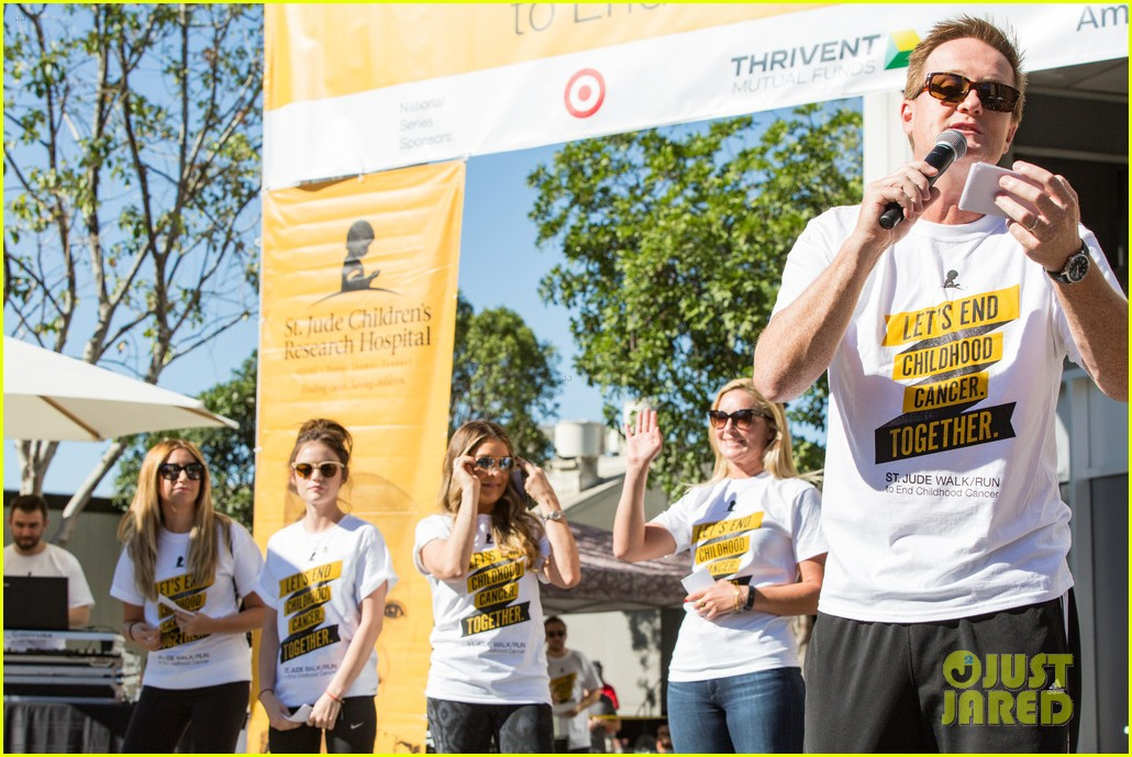 ashley tisdale lucy hale more st jude cancer walk 123769581