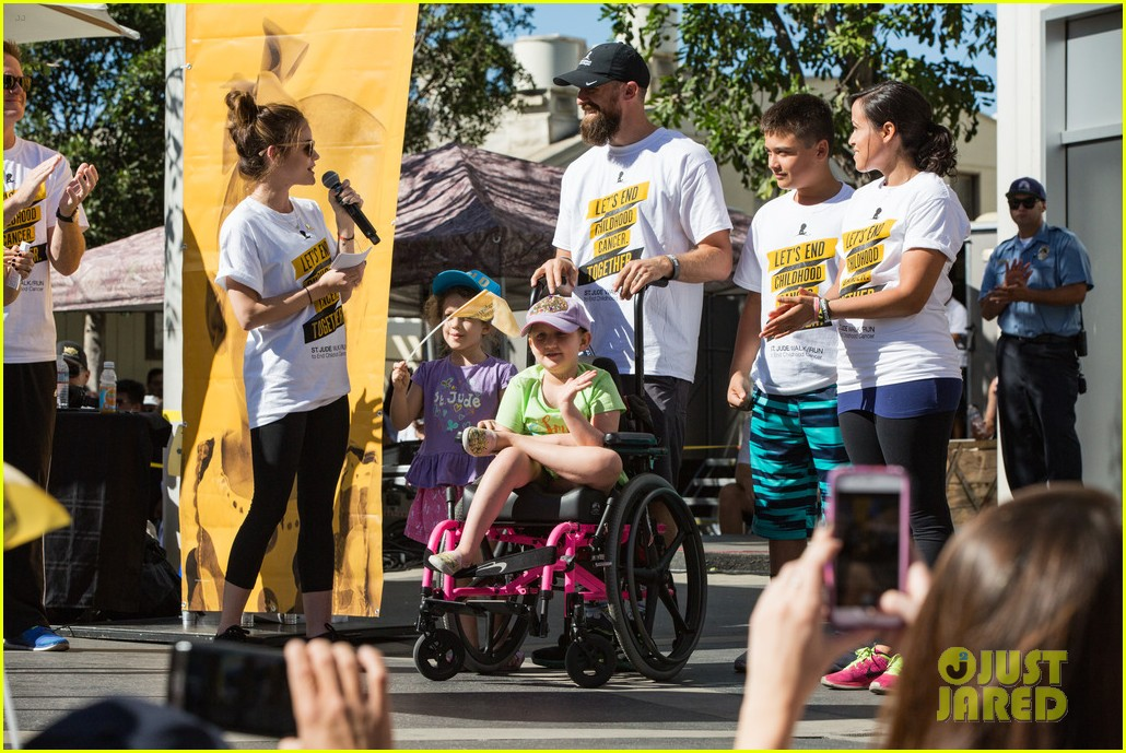 ashley tisdale lucy hale more st jude cancer walk 183769587