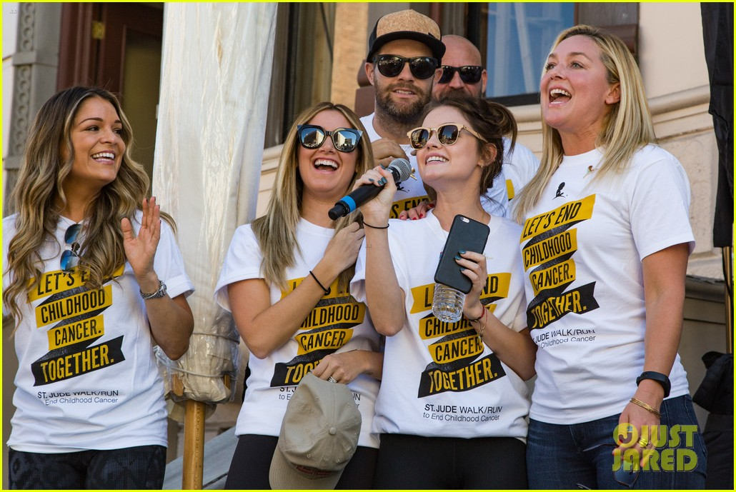 ashley tisdale lucy hale more st jude cancer walk 233769592