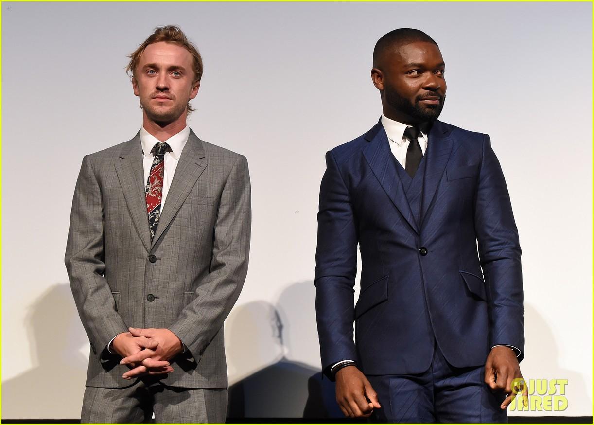 Tom Felton & David Oyelowo Premiere 'A United Kingdom' at TIFF 2016