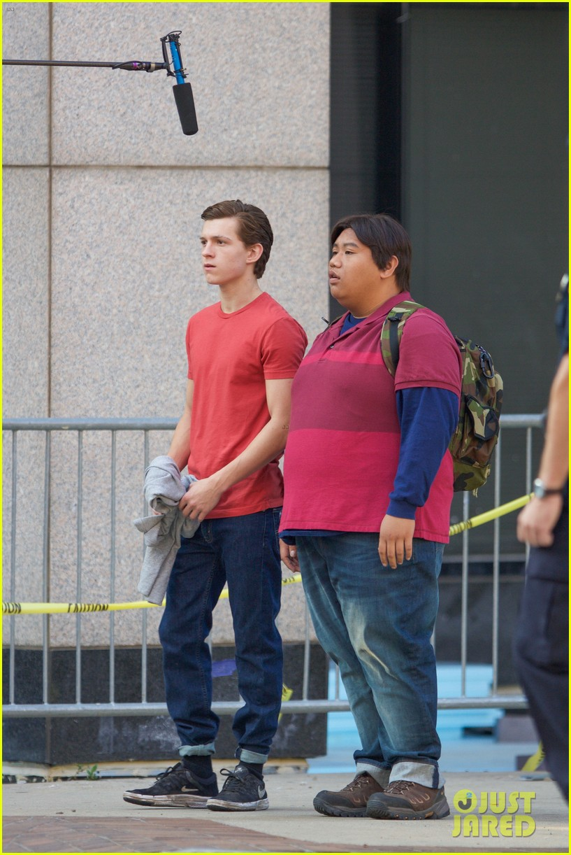 Atlanta Harley Davidson >> Tom Holland Thanks 'Spider-Man' Crew for Making Him ...