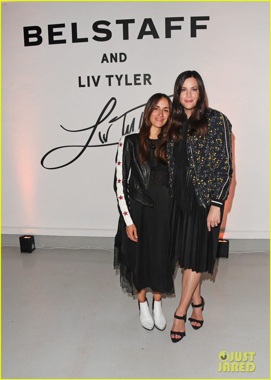 liv tyler celebrates launch of belstaff second capsule collection 043764484