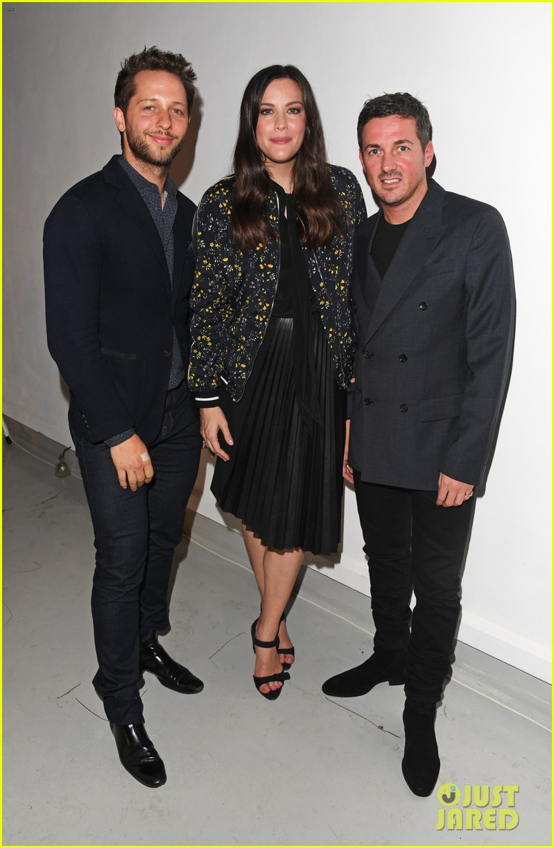 liv tyler celebrates launch of belstaff second capsule collection 063764486