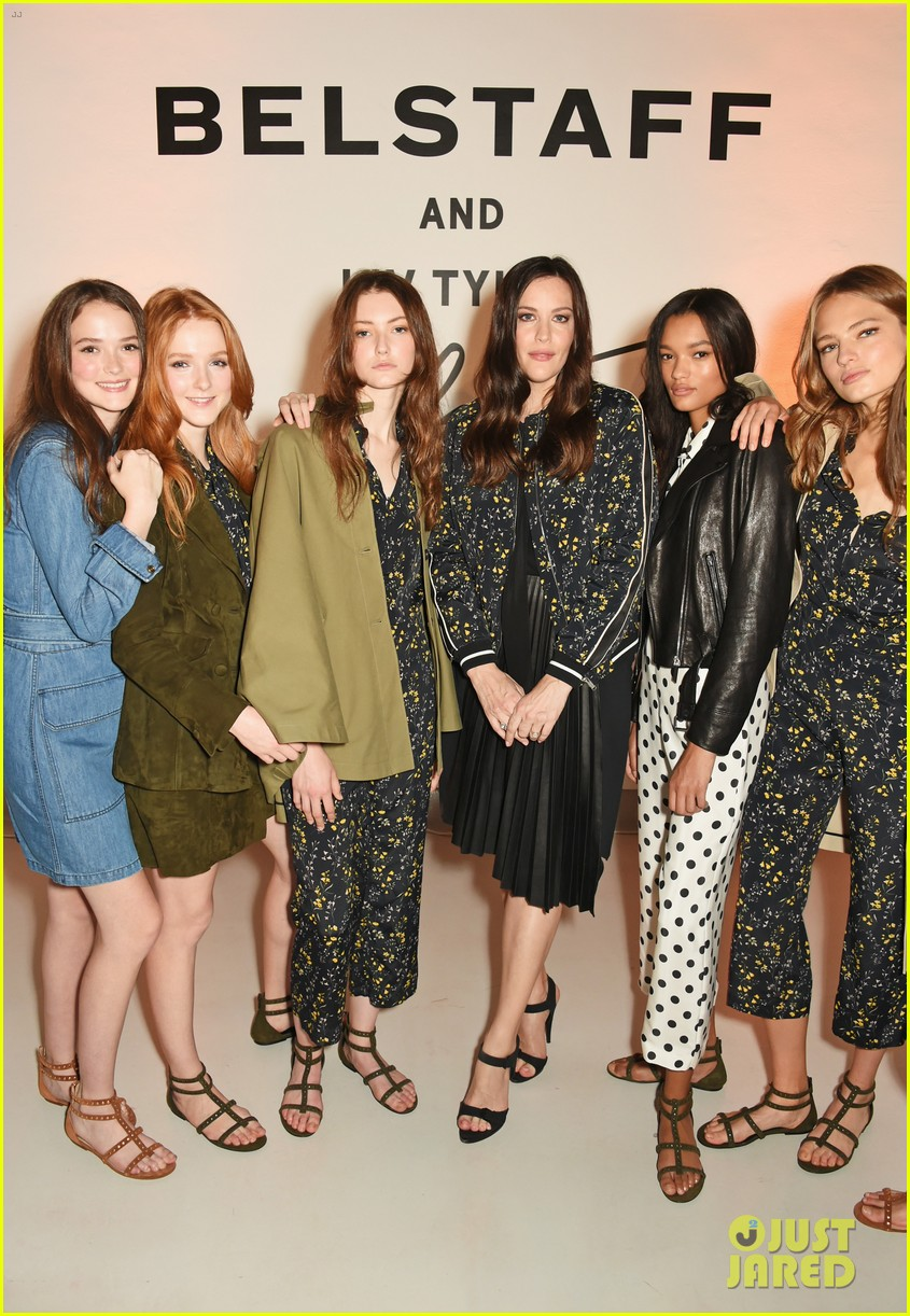 liv tyler celebrates launch of belstaff second capsule collection 243764504