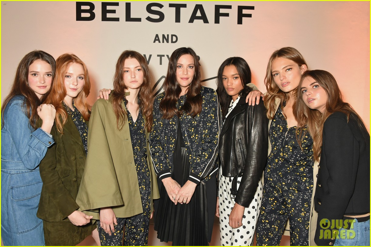 liv tyler celebrates launch of belstaff second capsule collection 253764505