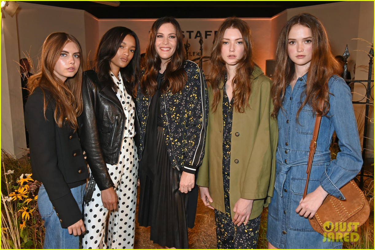 liv tyler celebrates launch of belstaff second capsule collection 303764510