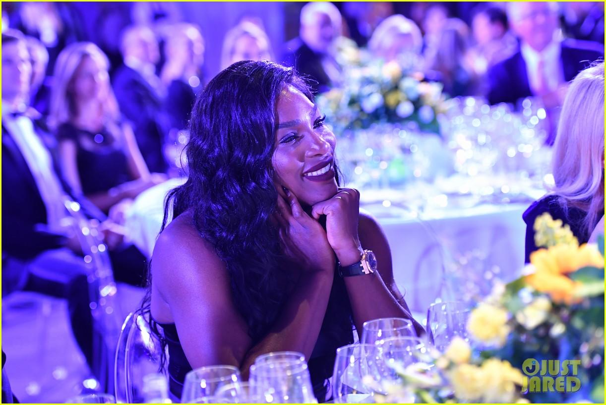Serena Williams Supports Novak Djokovic Foundation At Milano Gala Dinner! bfce2a351d5