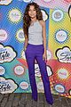 zendaya curly hair goals essence block party 06