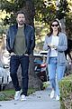 ben affleck jennifer garner drop the kids at school together 15