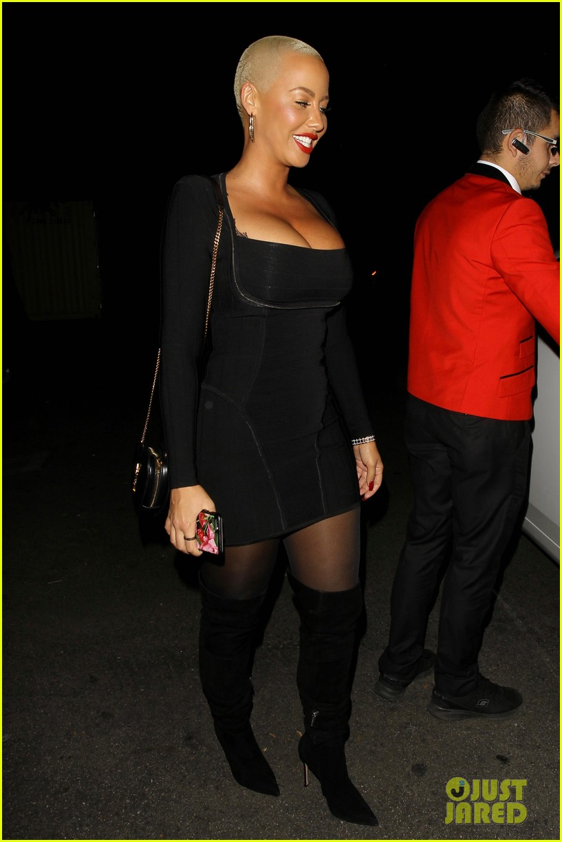 amber rose val chmerkovskiy head to dinner together amid romance rumors 283796261