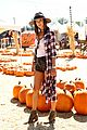 alessandra ambrosio visits a pumpkin patch with her kids 11