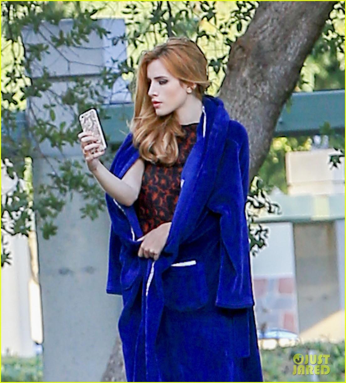 bella thorne poses in boyfriend tyler poseys underwear 043788682