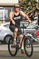 josh brolin puts his muscles on display for bike ride 01