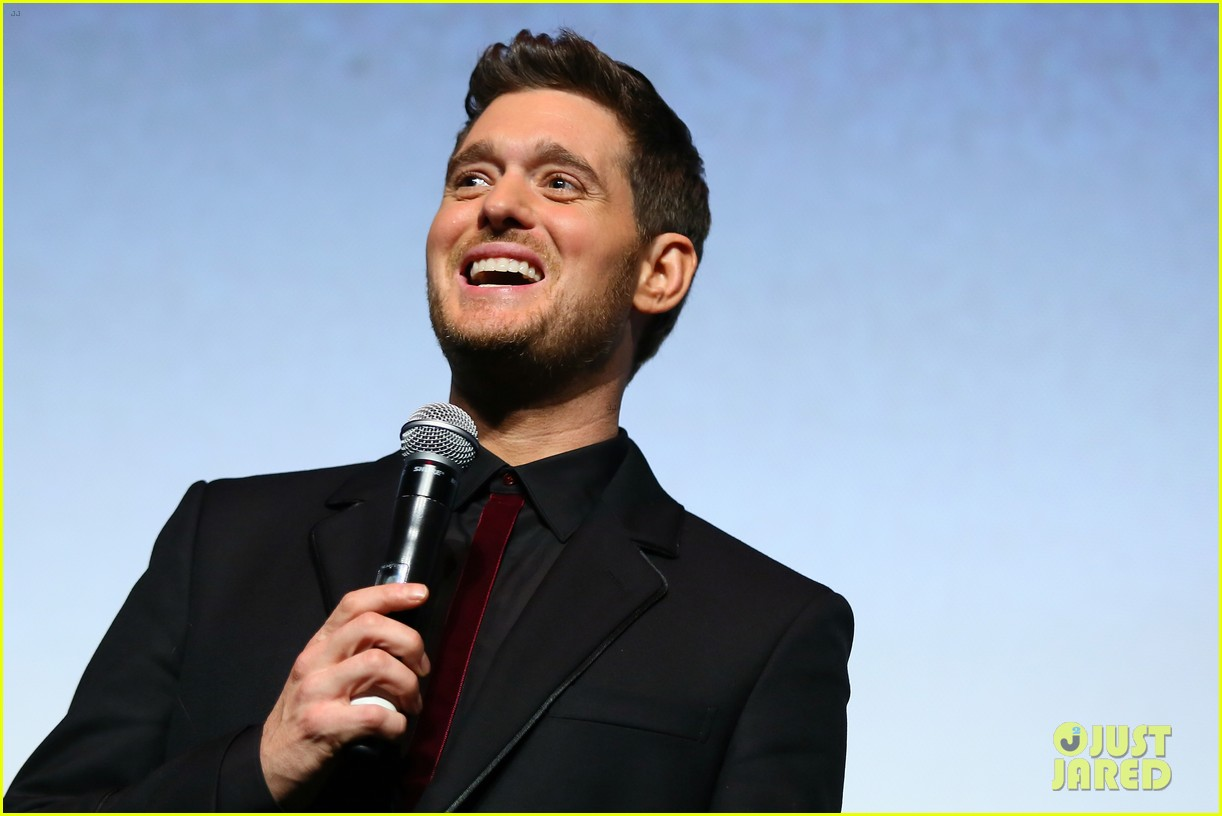 michael buble debuts official nobody but me music video 033787397