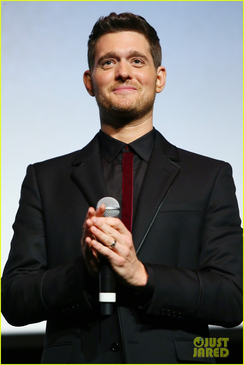 michael buble debuts official nobody but me music video 123787406