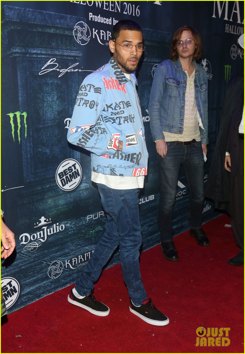 chris brown maxim 2016 halloween party 163791745