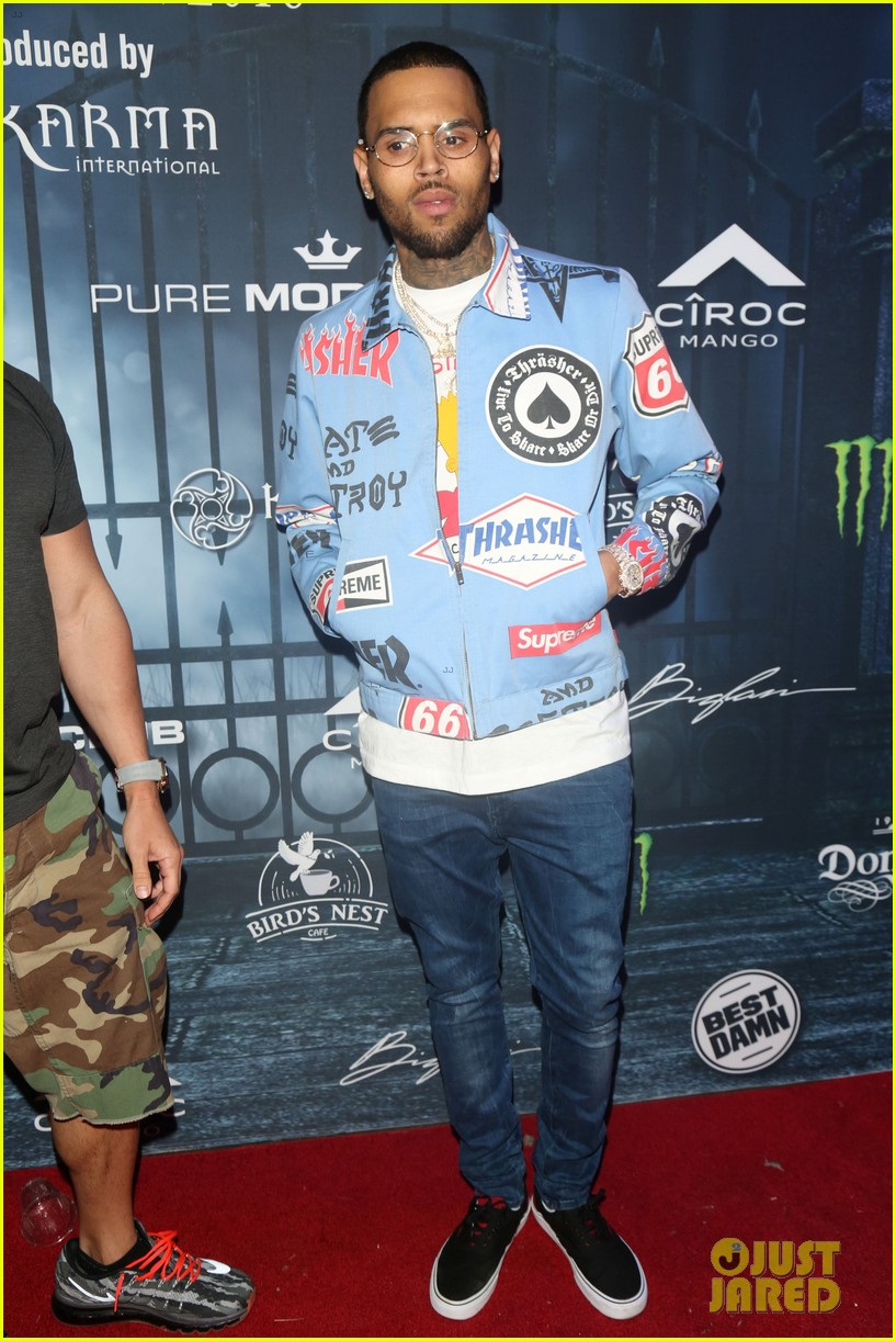 chris brown maxim 2016 halloween party 203791749