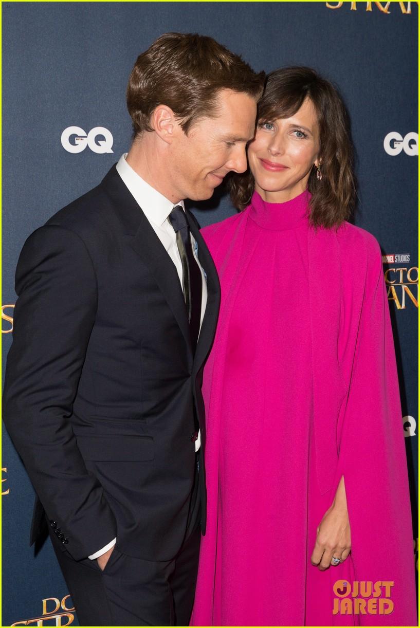benedict cumberbatch rachel mcadams doctor strange uk fan screening 023792515