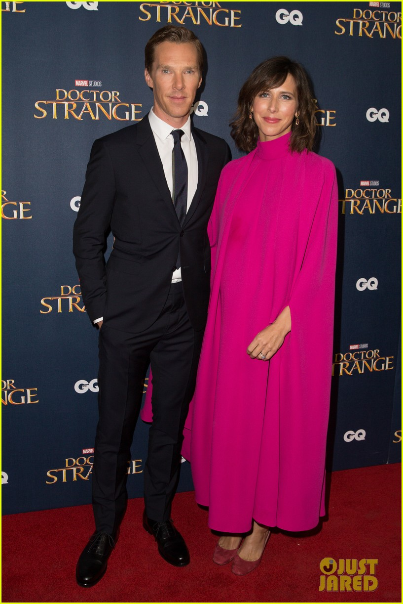 benedict cumberbatch rachel mcadams doctor strange uk fan screening 203792533