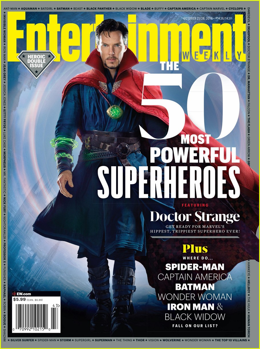 Benedict Cumberbatch Covers Ew As Doctor Strange Photo