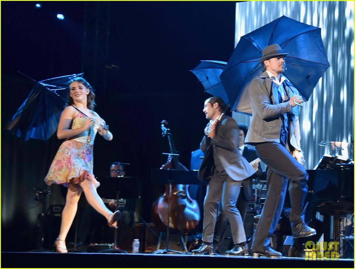 derek hough mptf anniversary performance dwts practice hayley erbert troupe 133775662