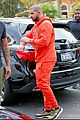 drake wears orange sweats for lunch 14
