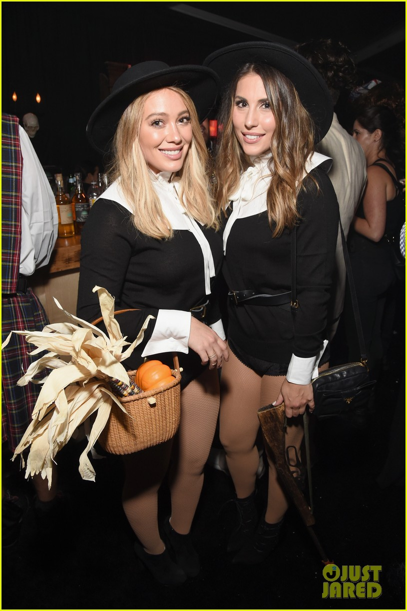hilary duff boyfriend jason walsh casamigos halloween party 113796541