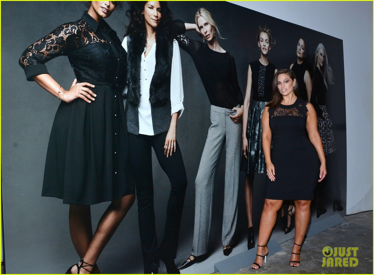 Ashley Graham Gets Support From Jamie Chung At Dressbarn Fall