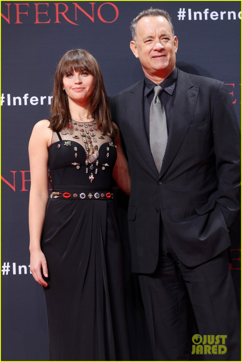 Tom Hanks & Felicity Jones Premiere 'Inferno' in Berlin ...