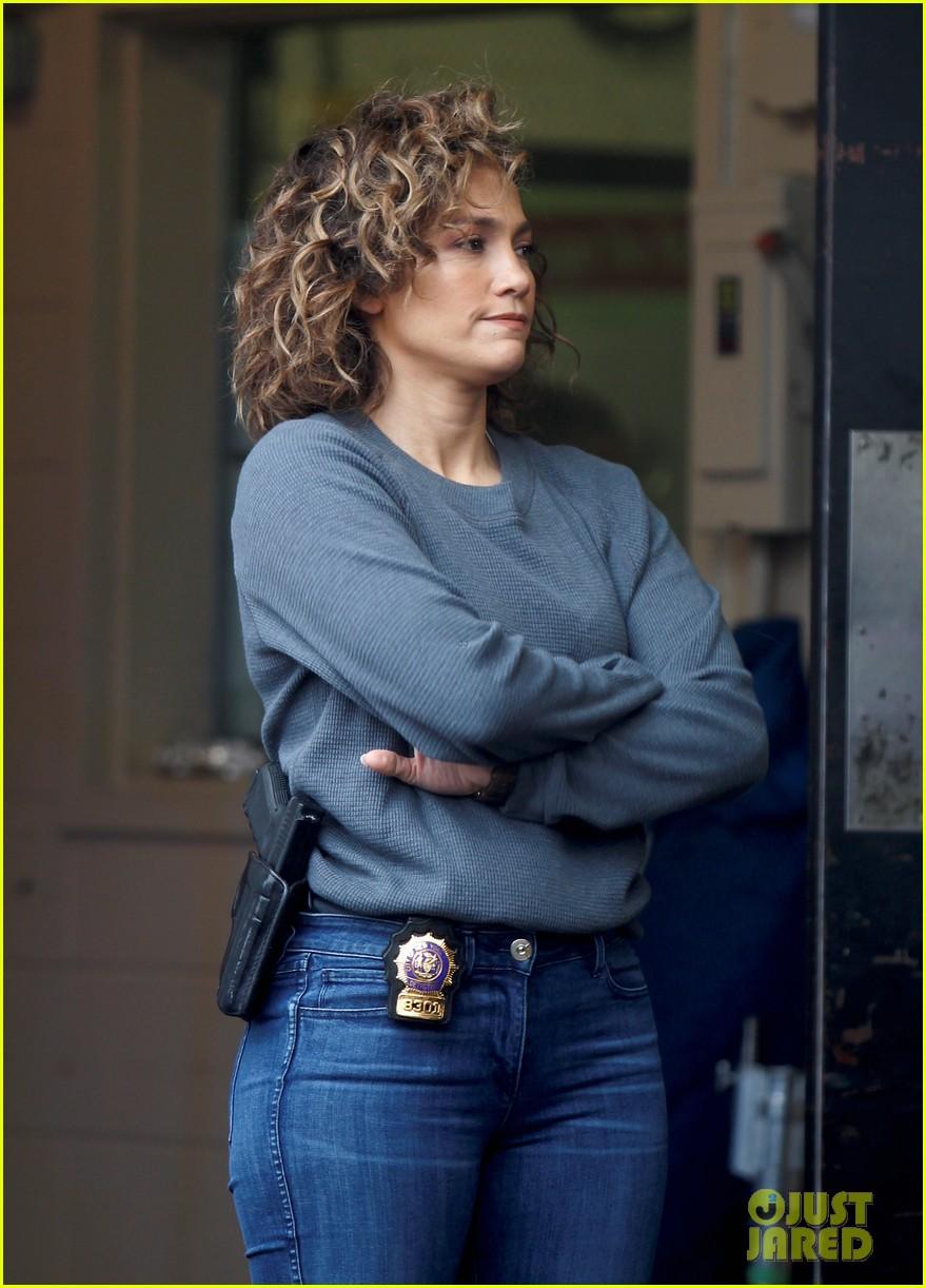 Jennifer Lopez Gets To Business On Shades Of Blue Set