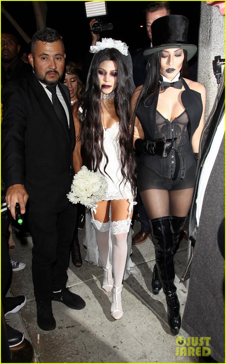Kourtney kardashian amp scott disick dress up for halloween 2016 photo