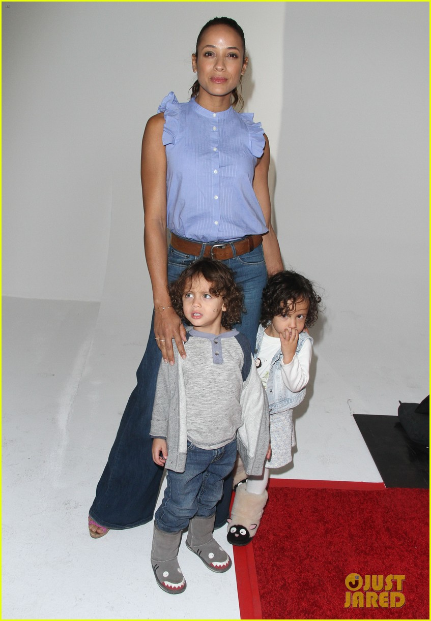 heidi klum makes it a family affair at a time for heroes 043792185