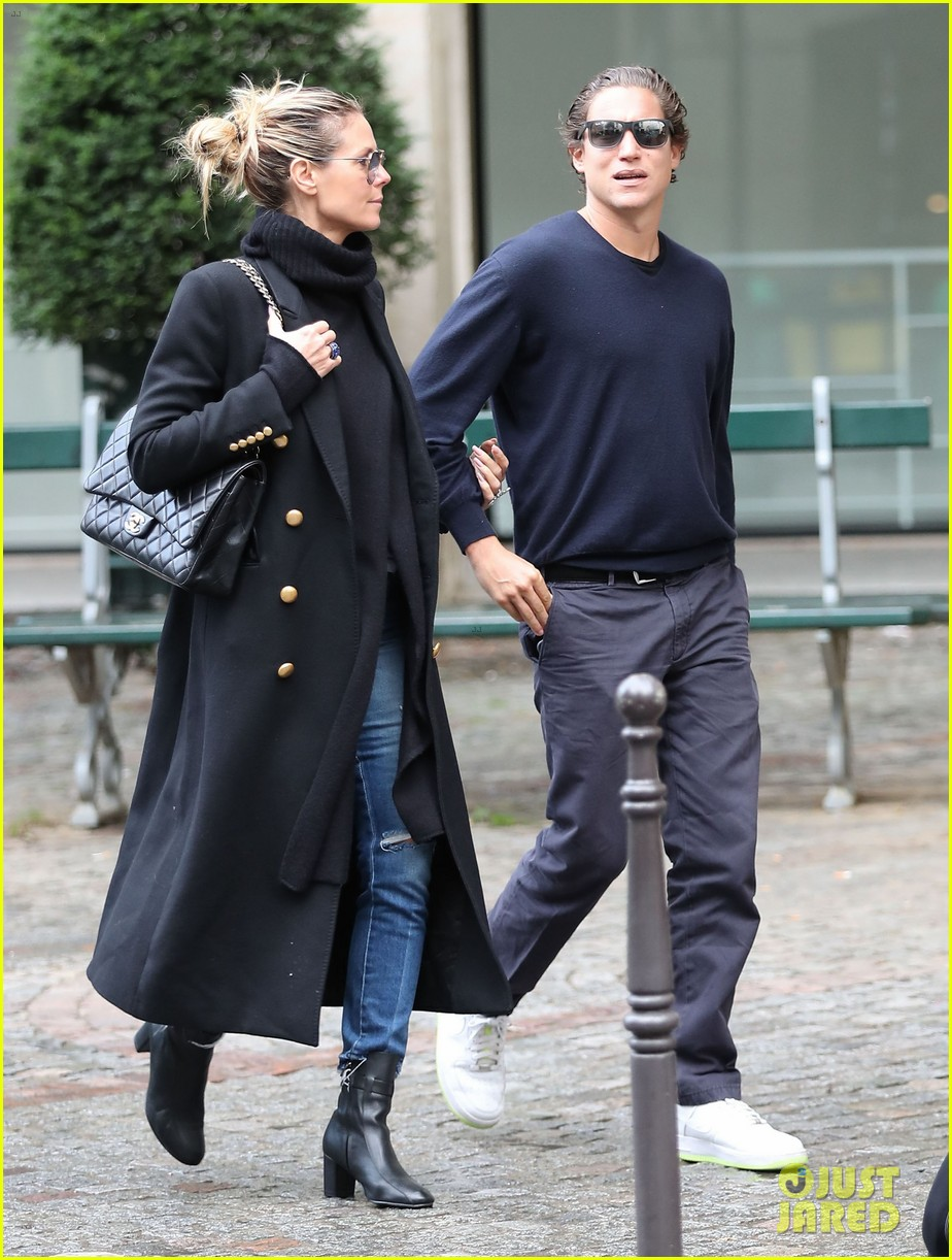heidi klum makes it a family affair at a time for heroes 373792218