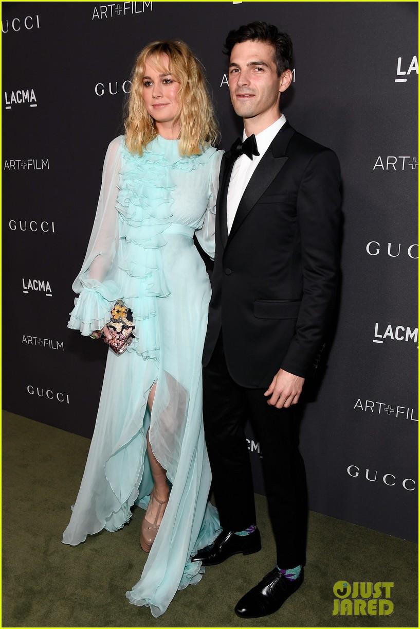 Brie Larson, Kate Upton, & Zoe Saldana Bring Their Men to LACMA Gala ...